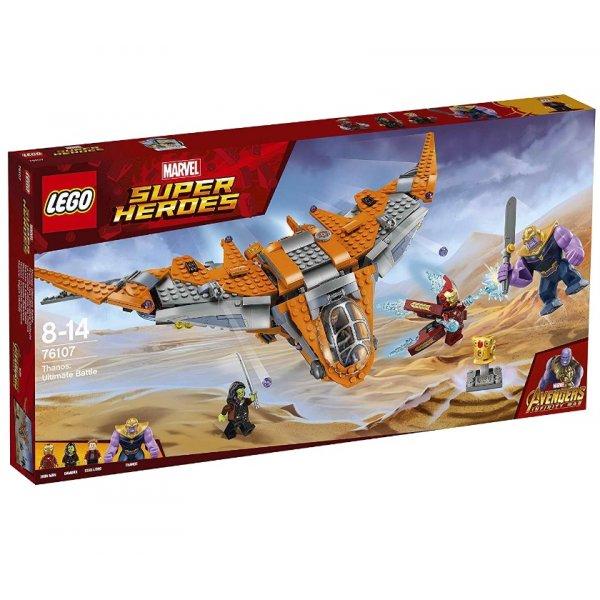 LEGO Marvel Super Heroes 76107 Война бесконечности: Танос - последняя битва