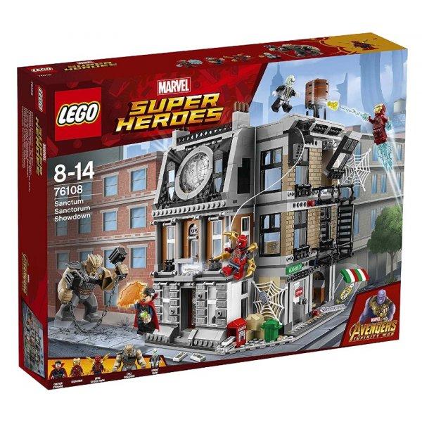LEGO Marvel Super Heroes 76108 Война бесконечности: Решающий бой в Санктум Санкторум