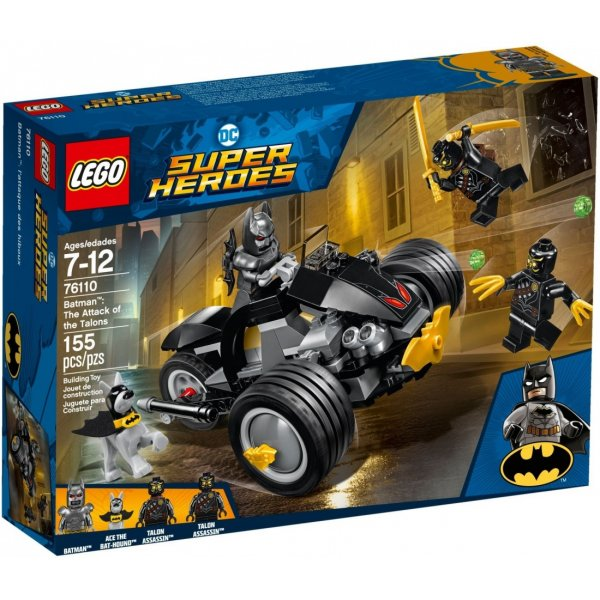 LEGO DC Super Heroes 76110 Бэтмен: нападение когтей