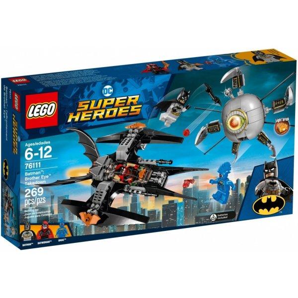 LEGO DC Super Heroes 76111 Бэтмен: ликвидация Глаза брата