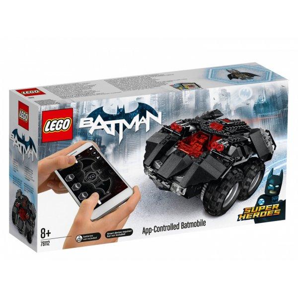LEGO DC Super Heroes 76112 Бэтмобиль с дистанционным управлением