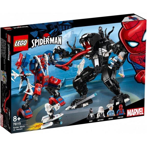 LEGO Эксклюзив 76115 Человек-паук против Венома