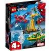 Набор лего - Конструктор LEGO Marvel Super Heroes 76134 Человек-паук: похищение бриллиантов Доктором Осьминогом