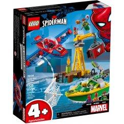 Конструктор LEGO Marvel Super Heroes 76134 Человек-паук: похищение бриллиантов Доктором Осьминогом