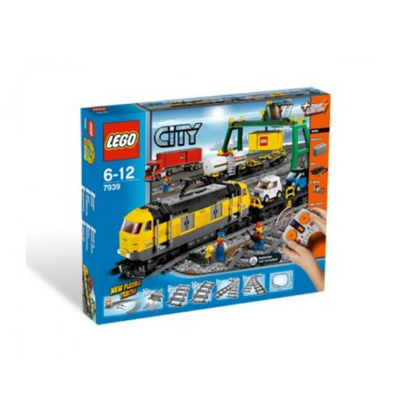 LEGO City 7939 Товарный поезд