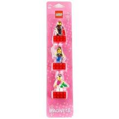 Lego Магниты 852948 Набор магнитов Женские Минифигурки