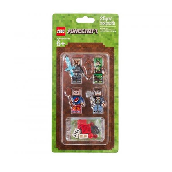 LEGO Minecraft 853609 Набор минифигурок Minecraft-1