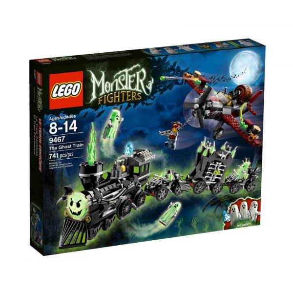 LEGO Эксклюзив 9467 Поезд-призрак