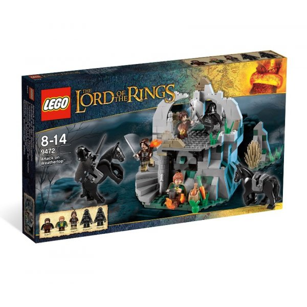 LEGO The Lord of the rings 9472 Нападение на Везертоп