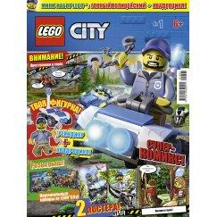 Журнал Lego City №01 (2018)