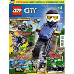 Журнал Lego City №4 (2018)