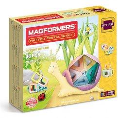 Magformers 702013 Магнитный конструктор My First Pastel Set 30, MAGFORMERS