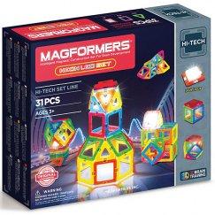 Magformers 709007 Магнитный конструктор 709007 Neon Led set, MAGFORMERS