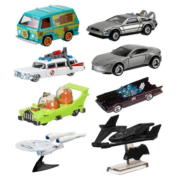 Hot Wheels HW-DMC55 Mattel Hot Wheels DMC55 Хот Вилс Тематический премиальный ассортимент машинок