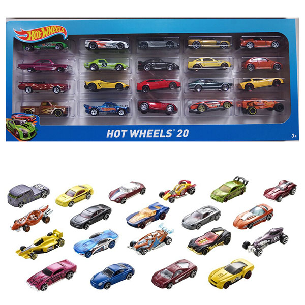 Hot Wheels HW-H7045/DPG53 Набор машин Mattel Hot Wheels H7045 Хот Вилс