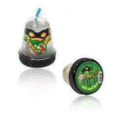 Слаймы SL-S130-12 Тянущийся слайм Slime Ninja, Затерянный мир с фигуркой Ящерицы, 130 гр
