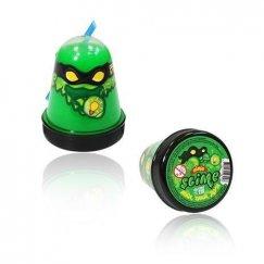 Тянущийся слайм Slime Ninja, Зеленый, светится в темноте, 130 гр