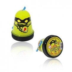 Тянущийся слайм Slime Ninja, Желтый, светится в темноте, 130 гр