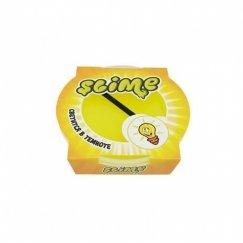 Тянущийся слайм Slime Mega (желтый, светится в темноте) 300гр