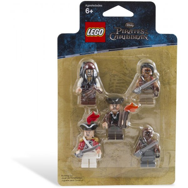 853219 Набор Lego Pirates of Caribian Battle Pack Набор минифигурок Пираты Карибского моря