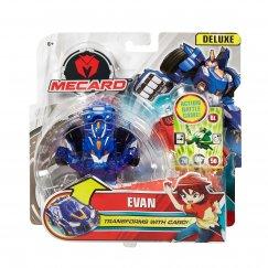 Трансформер Mattel Mecard Deluxe Evan машинка трансформирующаяся Эван