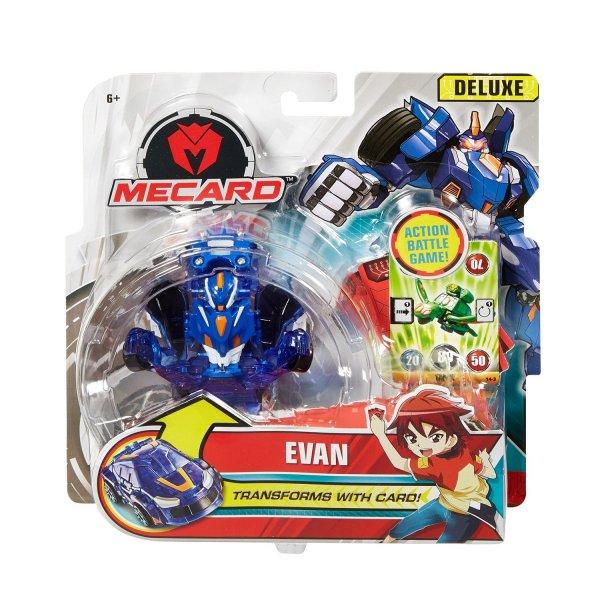 Mecard FXP22 Трансформер Mattel Mecard Deluxe Evan машинка трансформирующаяся Эван