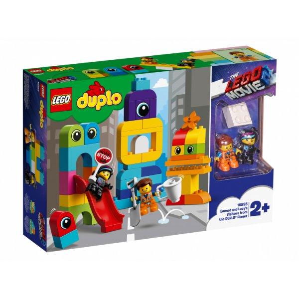 10895 Конструктор LEGO DUPLO 10895 Пришельцы Эммет и Люси с планеты Дупло