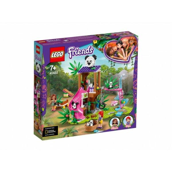 Набор Лего Конструктор LEGO Friends 41422 Джунгли: домик для панд на дереве