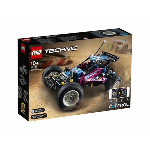 Набор Лего Электромеханический конструктор LEGO Technic 42124 Багги-внедорожник