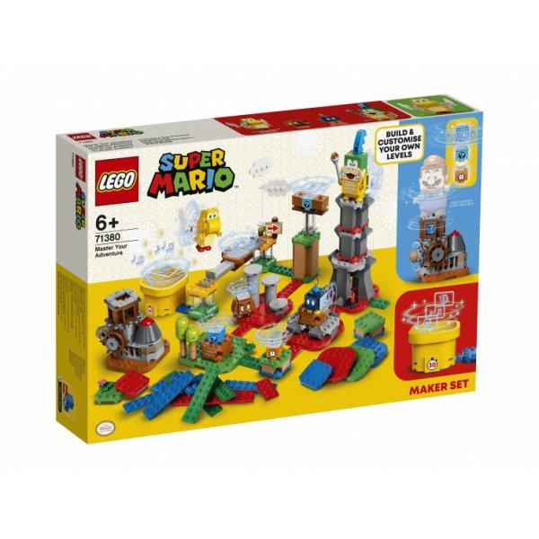 Конструктор LEGO Super Mario 71380 Твои уровни! Твои Приключения!