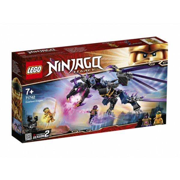 Набор Лего Конструктор LEGO Ninjago 71742 Дракон Оверлорда