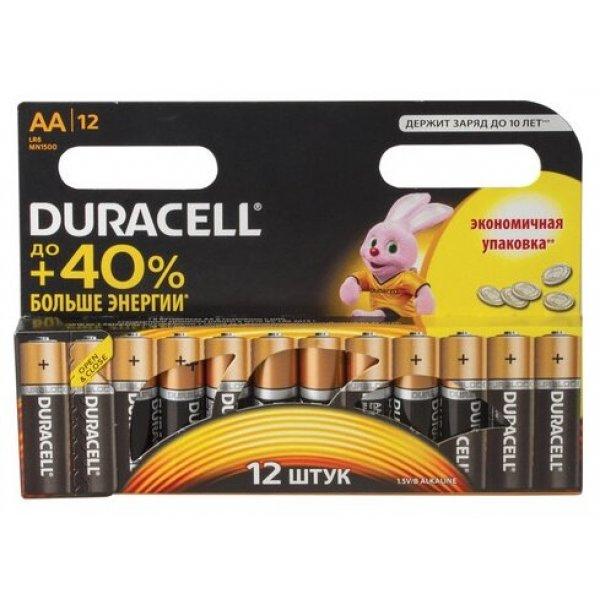 4AA Батарейки DURACELL LR6 BL12