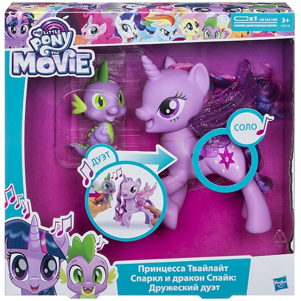 My Little Pony C0718 Игровой набор My Little Pony «Принцесса Твайлайт Спаркл и Спайк: Дружеский дуэт»