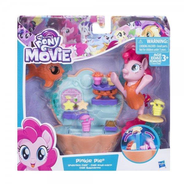 C1830/C0682 Игровой набор My Little Pony Pinkie Pie Undersea Cafe, C0682/C1830