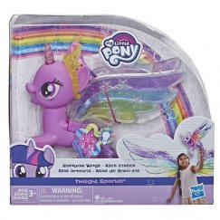 My Little Pony E2928 Фигурка Hasbro My Little Pony Искорка с радужными крыльями