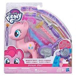 Hasbro My Little Pony Май Литл Пони пони с прическами - Салон Пинки Пай