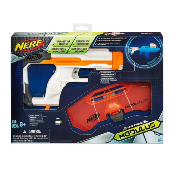 Бластер Nerf Модулус Искусный Защитник (B1536)