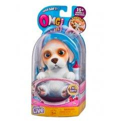 Интерактивная игрушка робот Moose Little Live Pets 28918 Cквиши-щенок Бигль