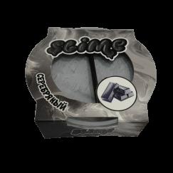 Тянущийся слайм Slime Mega (серебристый, магнитится) 300гр