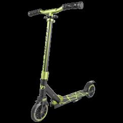 Городской самокат Tech Team TT Jogger 145 1/4 Черно-зеленый