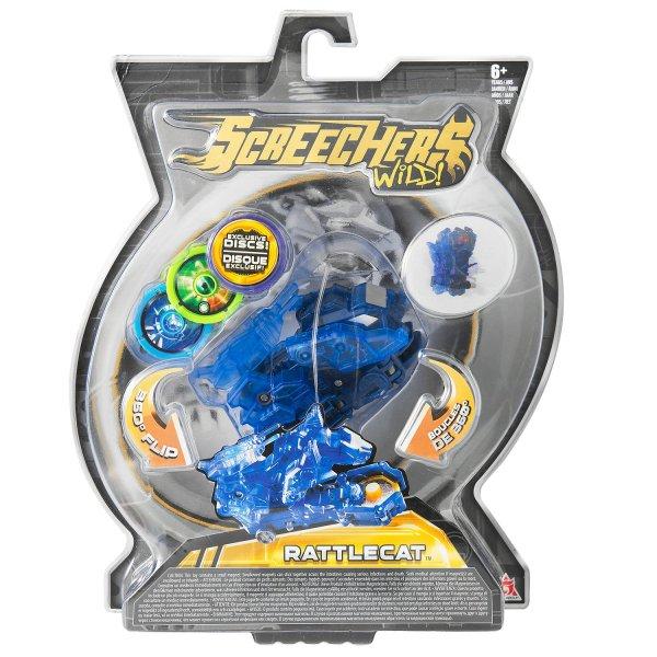 2 уровень 34823 Интерактивная игрушка трансформер РОСМЭН Дикие Скричеры. Линейка 2. Рэттлкэт (34823)