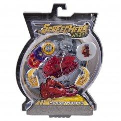 Screechers 34825 Интерактивная игрушка трансформер РОСМЭН Дикие Скричеры. Линейка 2. Манкиренч