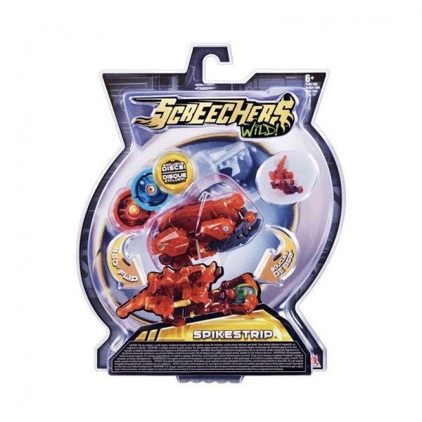 2 уровень 34828 Интерактивная игрушка трансформер РОСМЭН Дикие Скричеры. Линейка 2. Спайкстрип (34828)
