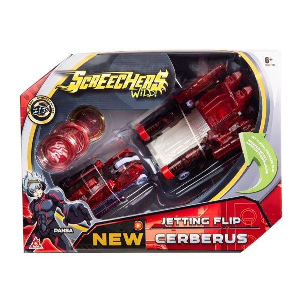 37761 Машинка-трансформер Screechers Wild Турбо-Скричер 2в1 Церберус 37761