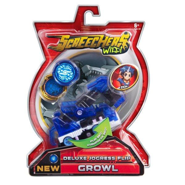 37762 Машинка-трансформер Screechers Wild Гроул л6 37762