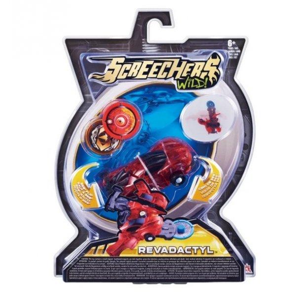 Screechers EU683112 Интерактивная игрушка трансформер РОСМЭН Дикие Скричеры. Линейка 1. Ревадактиль (34818)