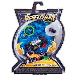 Screechers EU683114 Интерактивная игрушка трансформер РОСМЭН Дикие Скричеры. Линейка 1. Найтвивер (34820)