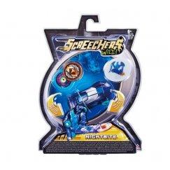 Screechers EU683115 Интерактивная игрушка трансформер РОСМЭН Дикие Скричеры. Линейка 1. Найтбайт (34821)