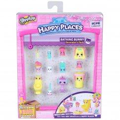Куклы Shopkins Happy Places Набор для декора Банные зайки