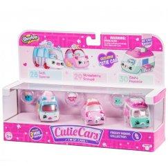 Куклы Shopkins CUTIE CAR S1 Машинки с мини-фигурками Ледяные горки
